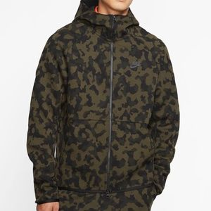 Nike Tech Fleece Camo Jacket